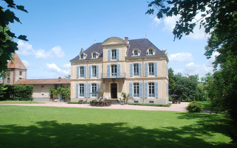 Maison Les Bardons en het Chateau Les Bardons