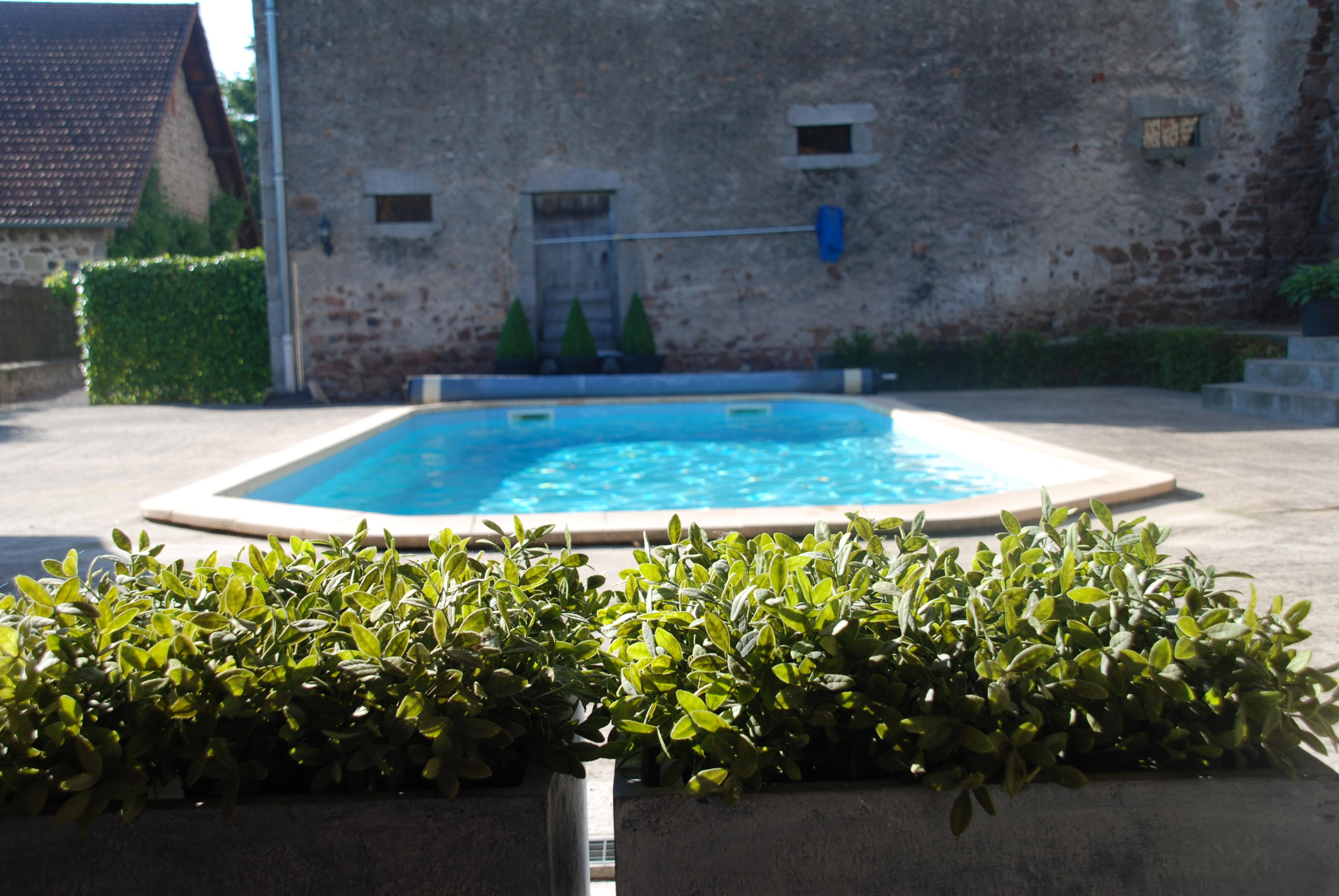Verwarmd zwembad 10x4