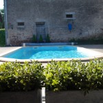 Heated pool 10x4