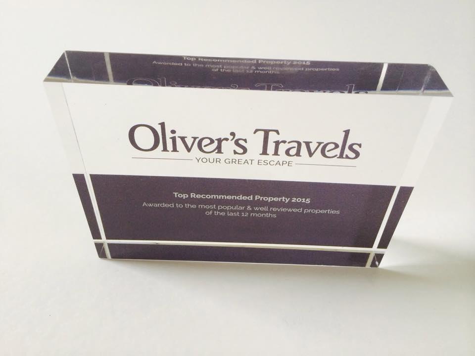 Olivers Travel Award 2015