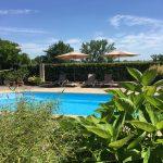 pool at chateau les bardons