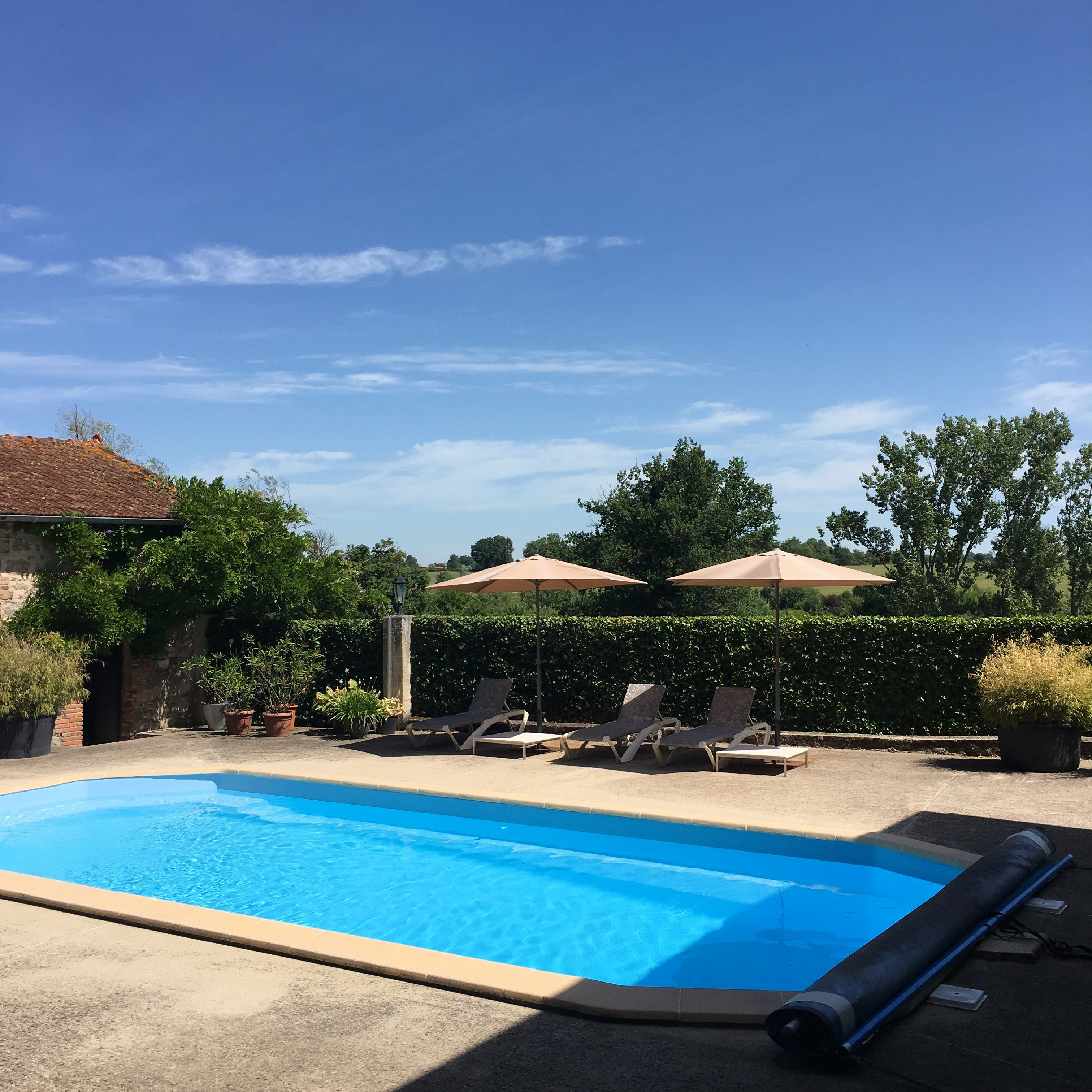 Pool at Les Bardons